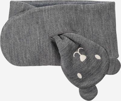 PETIT BATEAU Scarf in Dark grey / White, Item view