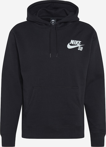 Nike SB Sportsweatshirt i svart