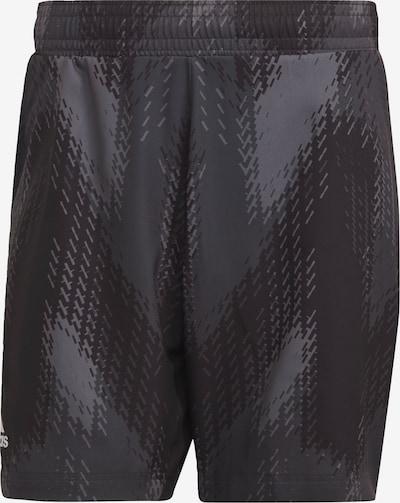 ADIDAS PERFORMANCE Shorts in dunkelgrau / schwarz, Produktansicht