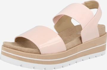 BULLBOXER Sandale in Pink