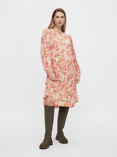 Rochie 'Anya' MAMALICIOUS pe crem / fruct de pădure / caisă / roz pastel, Vizualizare model