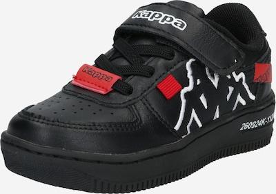 KAPPA Sneaker in rot / schwarz / weiß, Produktansicht