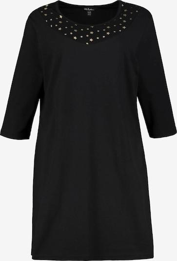 Ulla Popken Nachthemd in schwarz, Produktansicht