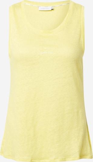 Calvin Klein Top in hellgelb, Produktansicht
