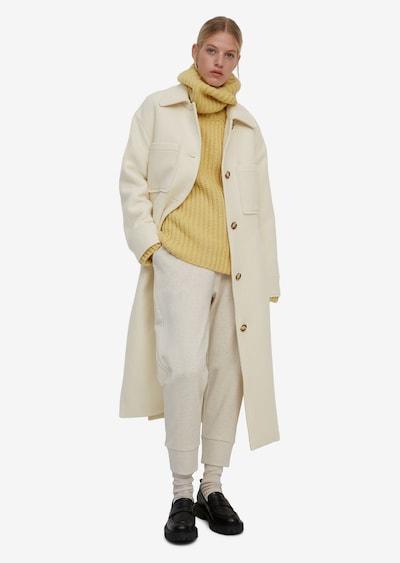 Marc O'Polo Wintermantel in beige, Modelansicht