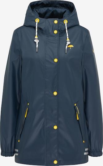 Schmuddelwedda Übergangsjacke in marine / gelb / weiß, Produktansicht