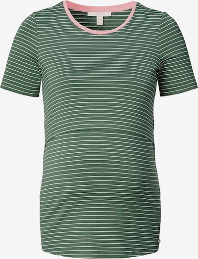Esprit Maternity T-shirt en vert / rose / blanc, Vue avec produit