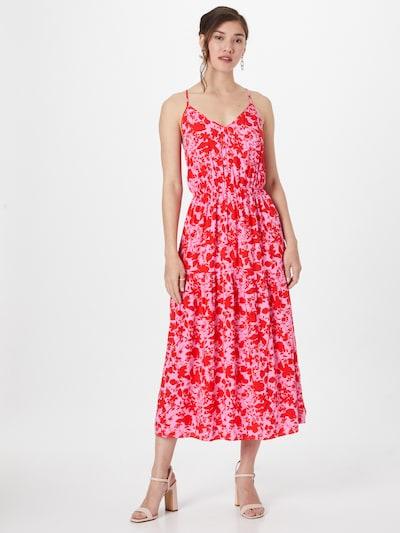 Y.A.S Zomerjurk 'SANNA' in de kleur Lichtroze / Rood, Modelweergave