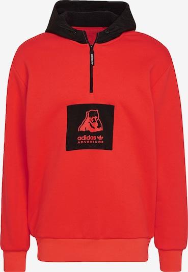 ADIDAS ORIGINALS Polar Bear Hoodie 'Adventure' in rot / schwarz, Produktansicht