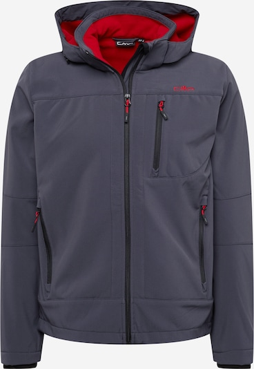 CMP Outdoor jacket in Grey / Red, Item view