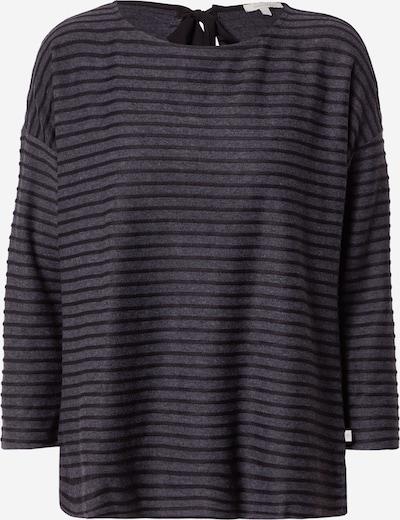 TOM TAILOR DENIM Shirt in dunkelgrau / schwarz, Produktansicht