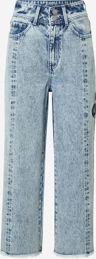 Jeans 'Lou' ABOUT YOU x INNA pe albastru denim, Vizualizare produs