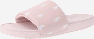 POLO RALPH LAUREN Strand-/badschoen 'Gansett' in de kleur Rosa / Wit, Productweergave