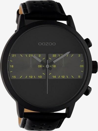 OOZOO Uhr in schwarz, Produktansicht