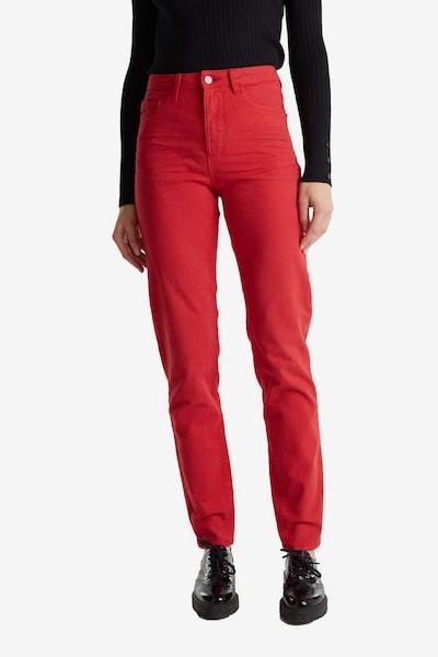 ESPRIT Broek in de kleur Rood, Modelweergave