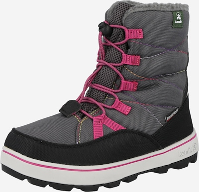 Kamik Snowboots 'Charlie' in grau / fuchsia / schwarz, Produktansicht