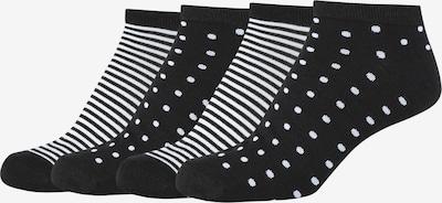 camano Sneakersocken 'Silky Feeling' in schwarz, Produktansicht