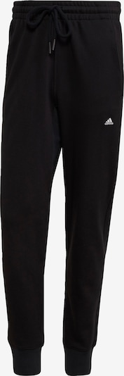 ADIDAS PERFORMANCE Workout Pants in Black / White, Item view