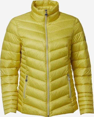 Danwear Daunenjacke 'Ally' in gelb, Produktansicht