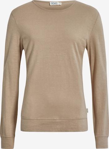 MÁ Hemp Wear Shirt 'Mira' in Beige