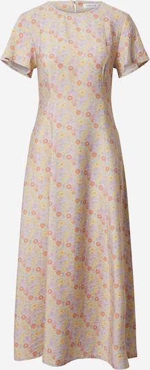 EDITED Kjole 'Marlen' i lyseblå / gul / lyselilla / orange, Produktvisning