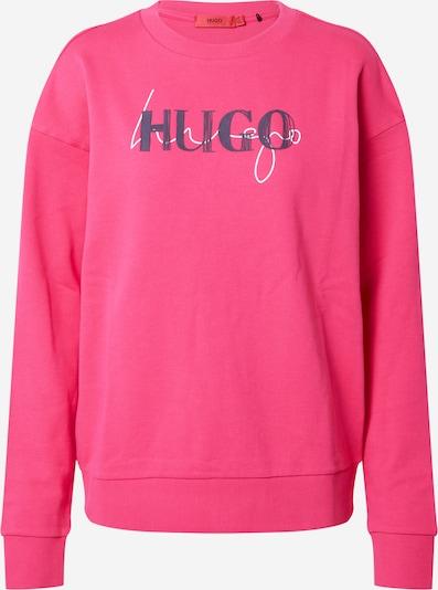 HUGO Sweatshirt 'Nakira' in marine / fuchsia / weiß, Produktansicht