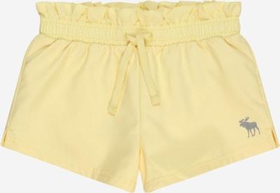 Abercrombie & Fitch Pantalón en amarillo claro / gris, Vista del producto