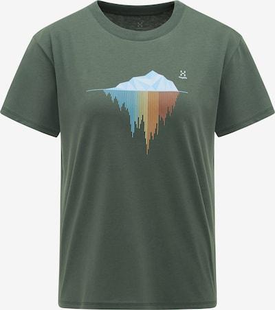 Haglöfs Funktionsshirt 'Camp' in oliv / mischfarben, Produktansicht