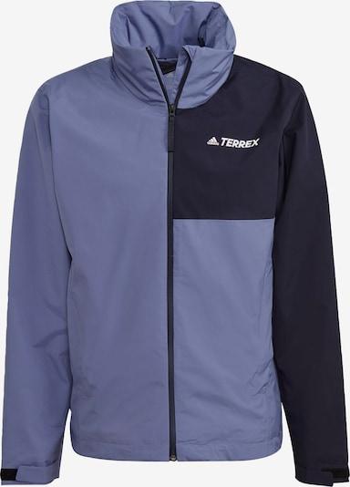 adidas Terrex Regenjacke in violettblau, Produktansicht