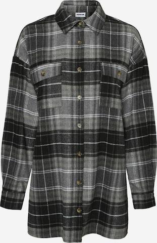 Noisy may Between-Season Jacket 'Flanny' in Grey