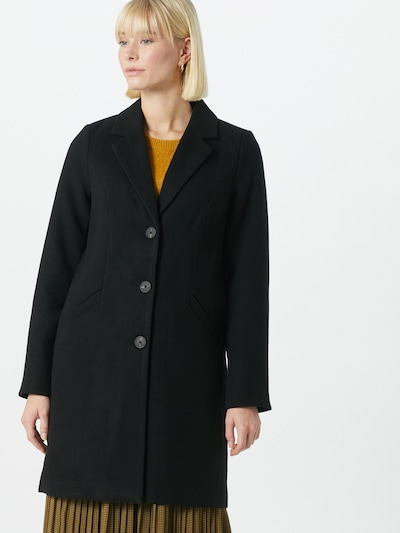 VERO MODA Mantel 'CALACINDY' in schwarz, Modelansicht