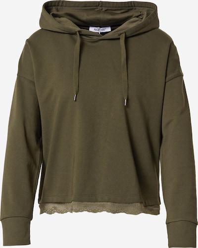 ABOUT YOU Sweatshirt 'Charleen' in khaki, Produktansicht