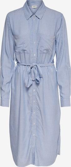 JACQUELINE de YONG Blusenkleid in blau / weiß, Produktansicht