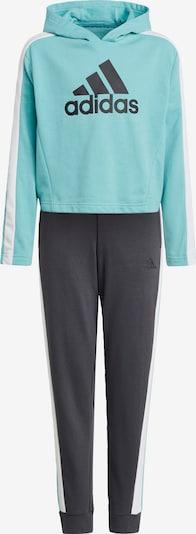 ADIDAS PERFORMANCE Odjeća za vježbanje u antracit siva / žad / bijela, Pregled proizvoda