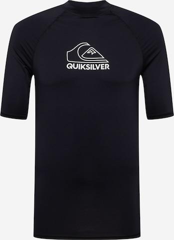 Tricou funcțional 'ON TOUR' de la QUIKSILVER pe negru