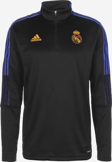 ADIDAS PERFORMANCE Sportsweatshirt in de kleur Blauw / Geel, Productweergave