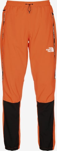 THE NORTH FACE Sporthose in Orange