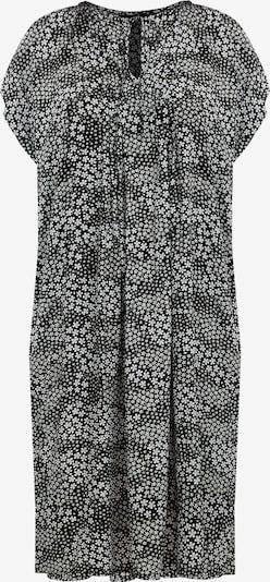 Finn Flare Kurzarm-Kleid in schwarz / weiß, Produktansicht