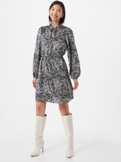 PIECES Kleid in beige / schwarz, Modelansicht