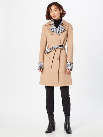 GUESS Between-Seasons Coat 'SANDRA' in Brown