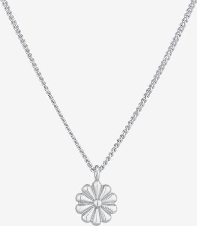 ELLI Halskette Blume in silber, Produktansicht