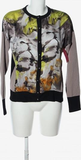 Hauber Cardigan in L in pastellgelb / hellgrau / schwarz, Produktansicht