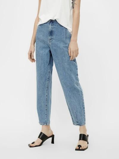 Džinsai 'MILA' iš OBJECT, spalva – tamsiai (džinso) mėlyna, Modelio vaizdas
