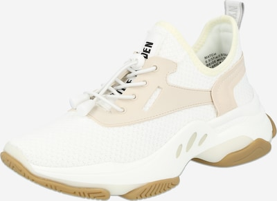 STEVE MADDEN Sneakers low 'MATCH' in beige / black / white, Item view