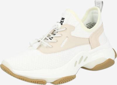 STEVE MADDEN Sneaker 'MATCH' in beige / schwarz / weiß, Produktansicht