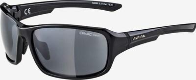 Alpina Sonnenbrille in schwarz, Produktansicht