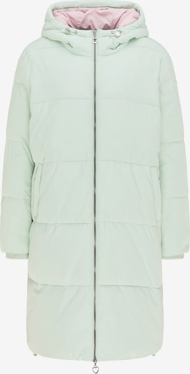 MYMO Manteau d'hiver en vert pastel, Vue avec produit