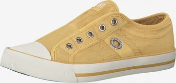 s.Oliver Slip-Ons in Yellow