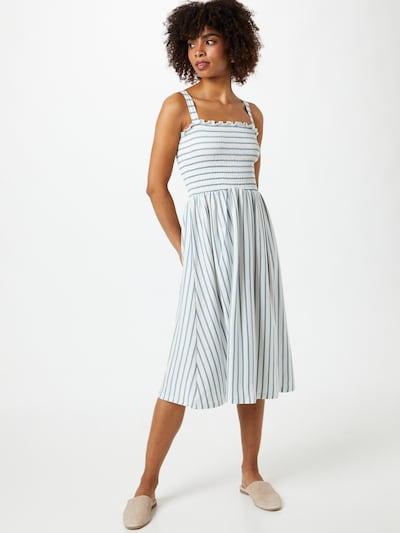 kék farmer / fehér ONLY Nyári ruhák 'PEPPA', Modell nézet