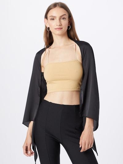 SWING Bolero in schwarz, Modelansicht